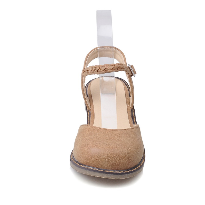 994ef45dd891 Odetina New Fashion Women Buckle Strap Mary Jane Flat Shoes Casual Round  Toe Sweet Slingback Ballet Flat Ankle Strap Larger Size-in Women's Flats  from Shoes ...