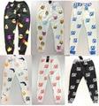 2014 Mais Novo 100 Emoji Basculadores Pants Branco/Preto/Azul/Vermelho Para Homens/Boy Jogger Sweatpants Calças Roupa dos desenhos animados Harem Pants