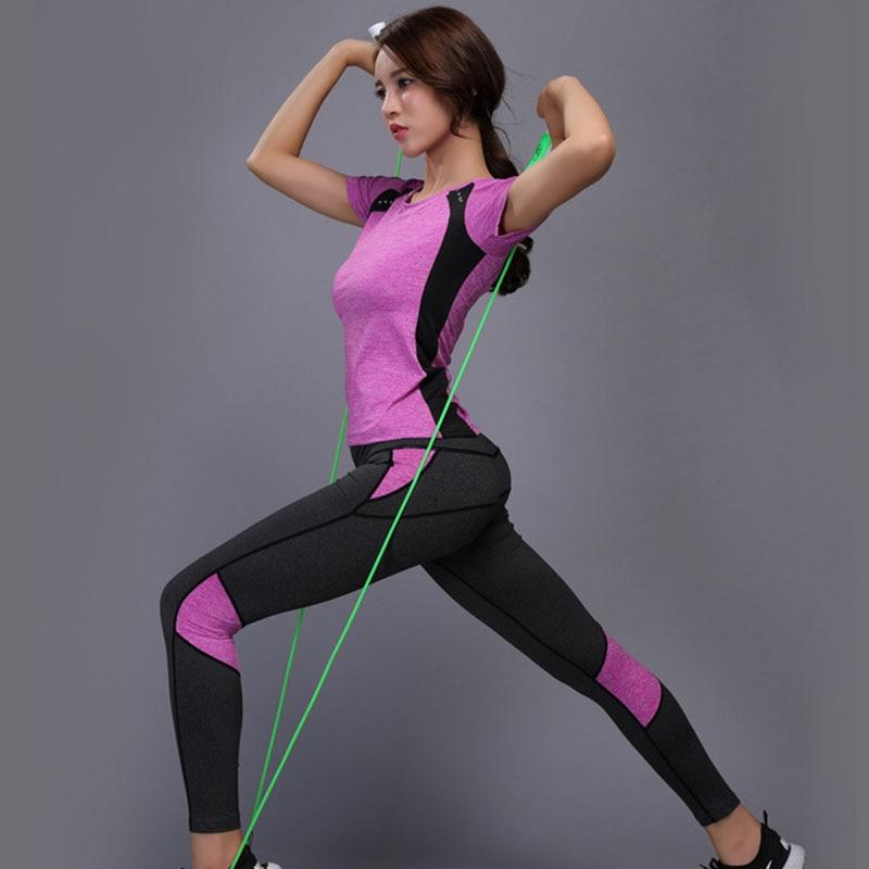 Women Yoga Set Gym Fitness Clothes (32)