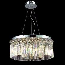 Comedor E14 llevó el bulbo de cristal llena de luz Led lámpara de araña Pendientes de cocina Bar restaurante dormitorio de la lámpara Led modern chandelier