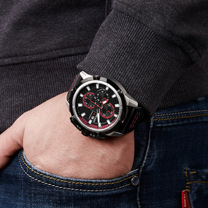 Image 5 - MEGIR Creative Sport Watch Men Relogio Masculino Fashion Brand Luxury Quartz Chronograph Army Military Wrist Watches Clock Men