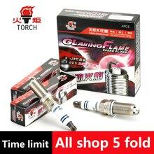 4pcs/lot China original TORCHIridium U groove spark plugKH6RIUfor HYUNDAI ix35/santa fe/sonata/KIA sorento/sportage,etc.