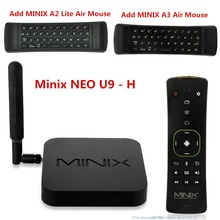 Mesuvida Оригинал MINIX NEO U9-H TV Box Android 6.0.1 Amlogic S912-H Cortex A53 Octa Core Bluetooth 4.1 2 ГБ 16 ГБ media player