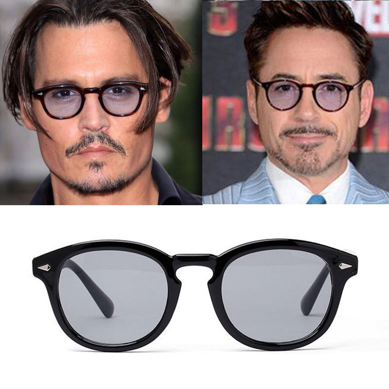 7e305f45317d2 Vikulsi Super Star Sunglass Men 2016 Vintage Fashion Sunglasses Women Brand  Designer Johnny Depp Rivet Sun