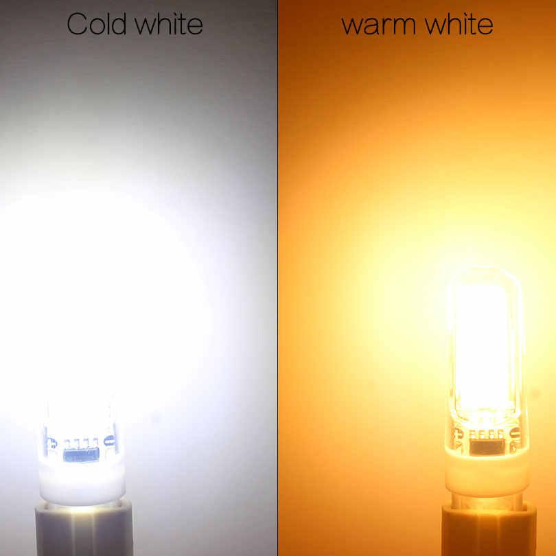 Новинка 2017 года светодиодный светильник G4 G9 E14 AC/DC 12 V 220 V 3 Вт, 6 Вт, 9 Вт COB светодиодный G4 G9 лампы с регулируемой яркостью для Хрустальная люстра
