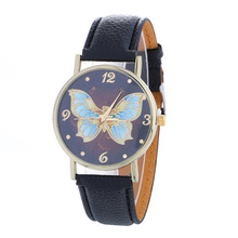 Fashion Casual Women's Quartz Wristwatch Leather Women's Bracelet Watches Dress Watch Butterfly Relogio Feminino Children's Gift