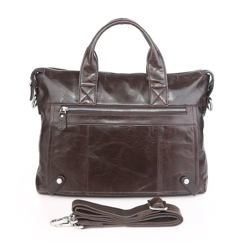 все цены на Vintage Leather Men's Dark Coffee Briefcase Laptop Bag Messenger Handbag Sales 7120C-1 онлайн