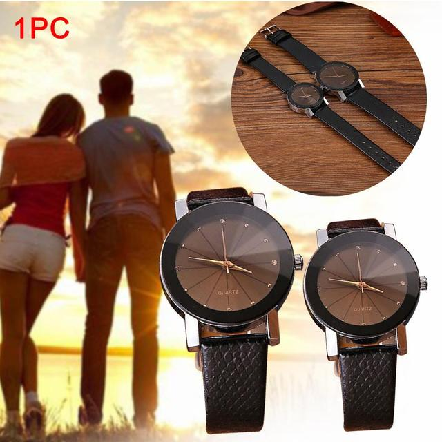 Fabulous NEW Luxury Quartz Sport Military Stainless Steel Dial Leather Band Wris