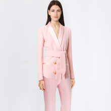New Formal Suits for Women Office Business Suitspants Work Wear Sets Uniform Styles Elegant Pant
