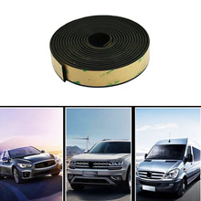 5 Meter Car Window Sealant Rubber Sunroof Triangular Waterproof Sealed Strips Seal Trim For Auto Vehicle Front Rear Windshield