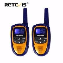 2 шт. мини детей Walkie Talkie дети радио Retevis RT31 0.5 Вт 8/22CH PMR446 Портативный радиолюбителей ФИО comunicador 2 способ игрушка радио подарок
