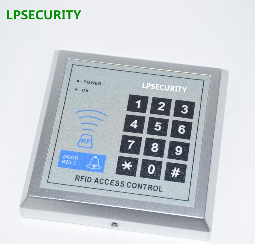 LPSECURITY 500 Users 125KHz RFID Proximity Door Entry Keypad For Gate Opener Access Control System  For Home Office