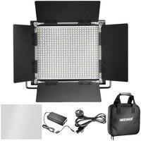 Neewer 3200 5600K UK EU Plug Dimmable Bi Color 660 LED U Bracket Barndoor Video Light