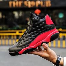 brand new f1aa3 49cbd Jordan 13 retro hombres zapatos de baloncesto blanco hombres jodan  zapatillas costura de cuero de gran