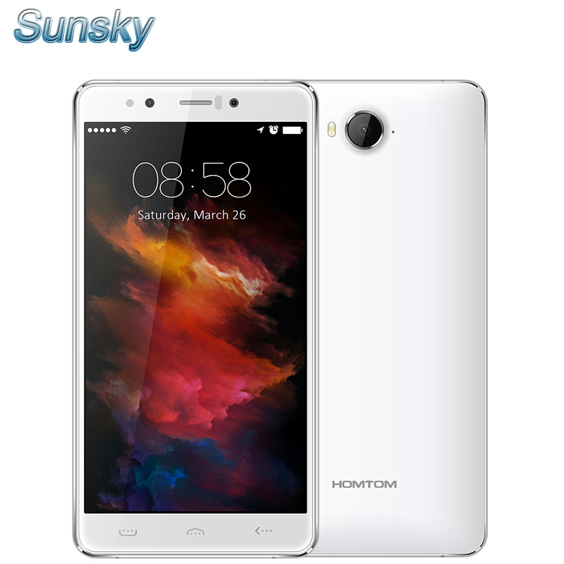 Original Homtom HT10 5 5 Inch Android 6 0 MTK6797 Deca Core 4G 32G 3200mAh Smartphone