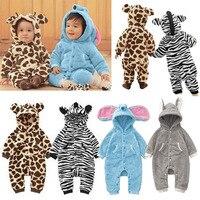 New Baby Kid Toddler Boys Girls Animal Onesie Bodysuit Romper Jumpsuit Fancy Costume High Quality