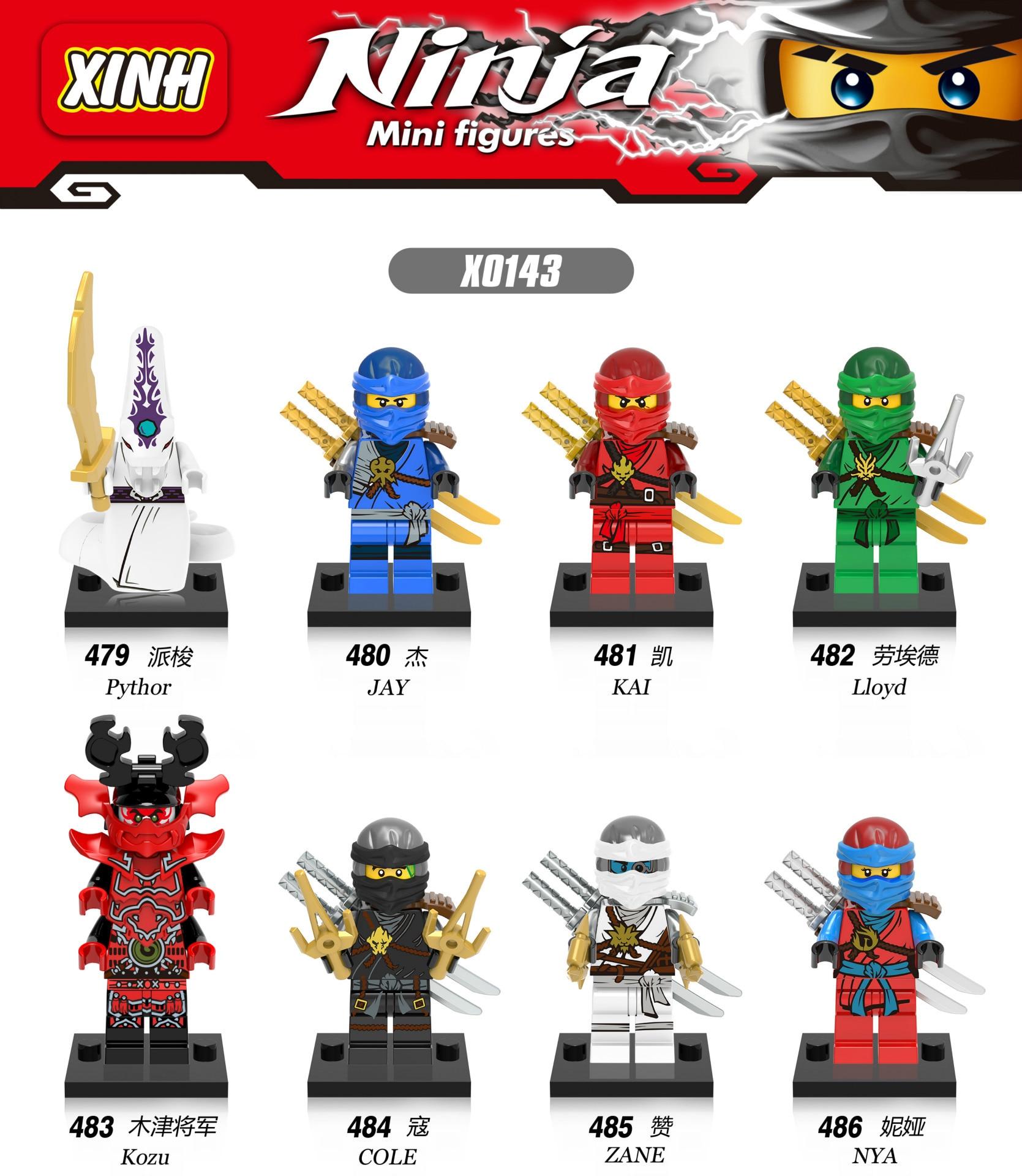 Ninjago Namen