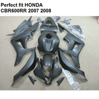 Bodywork kit for Honda fairings CBR 600RR 2007 2008 fairing kit CBR600RR 07 08 matte black CV94
