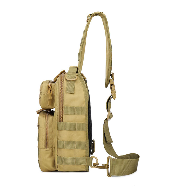 Image 2 - Tactical Chest Backpack Military Bag Hunting Fishing Bags Camping Hiking Army Hiking Backpacks Mochila Molle Shoulder Pack XA65AClimbing Bags   -