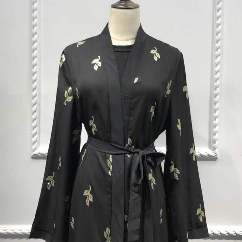 2019 Абаи кимоно Дубай, Турция Ислам кардиган мусульманский хиджаб платье Абая для женщин джилбаба халат кафтан турецкий Ислам ic Костюмы