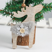 snowflake wood embellishments rustic christmas tree hanging ornament decor xmas christmas decorations for homechina - Rustic Christmas Tree Decorations For Sale