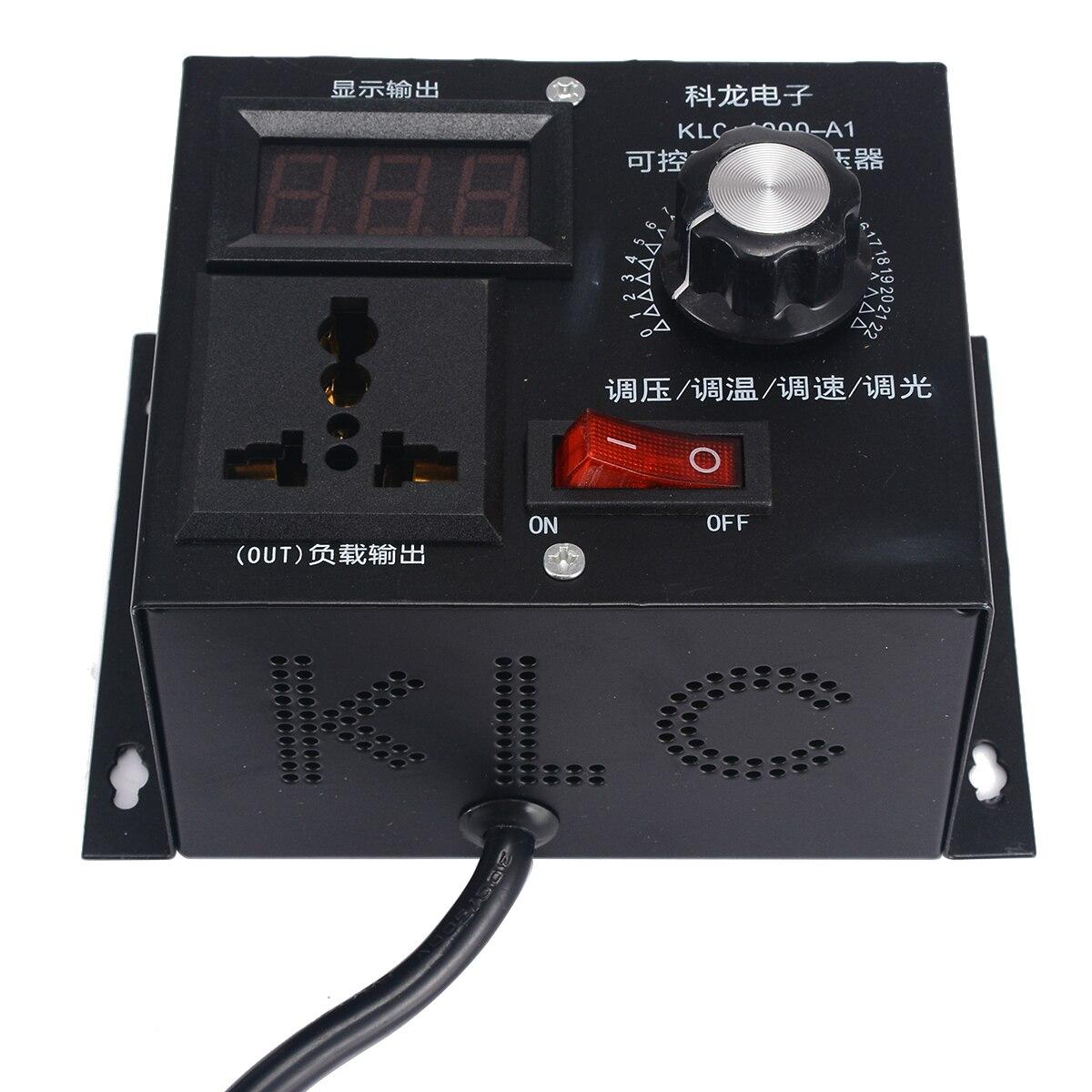 Alta qualidade 220 v 4000 w controlador