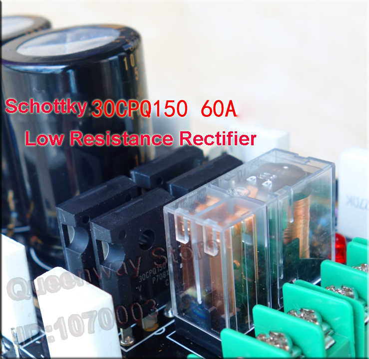 A60+ reference version current feedback board/circuits power amplifier  Circuits Toshiba 2SC5200 2SA1943 Amplifier tube
