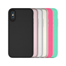 цена на For iphone X Case Shockproof 2 in 1 hybrid armor dual protection phone case for iphone x tpu+pc Back cover for iphonex