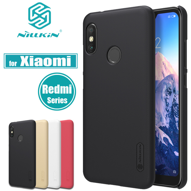 sale retailer e52c4 6657c US $7.19 10% OFF|Xiaomi Redmi 6 Pro 6A Case Nillkin Frosted Shield Matte  Hard PC Plastic Phone Bag Back Cover for Xiaomi Redmi 5A 5 Plus Cases-in  Flip ...