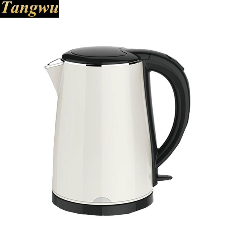 Electric heating kettle household 304 stainless steel automatic power off mute fast цена