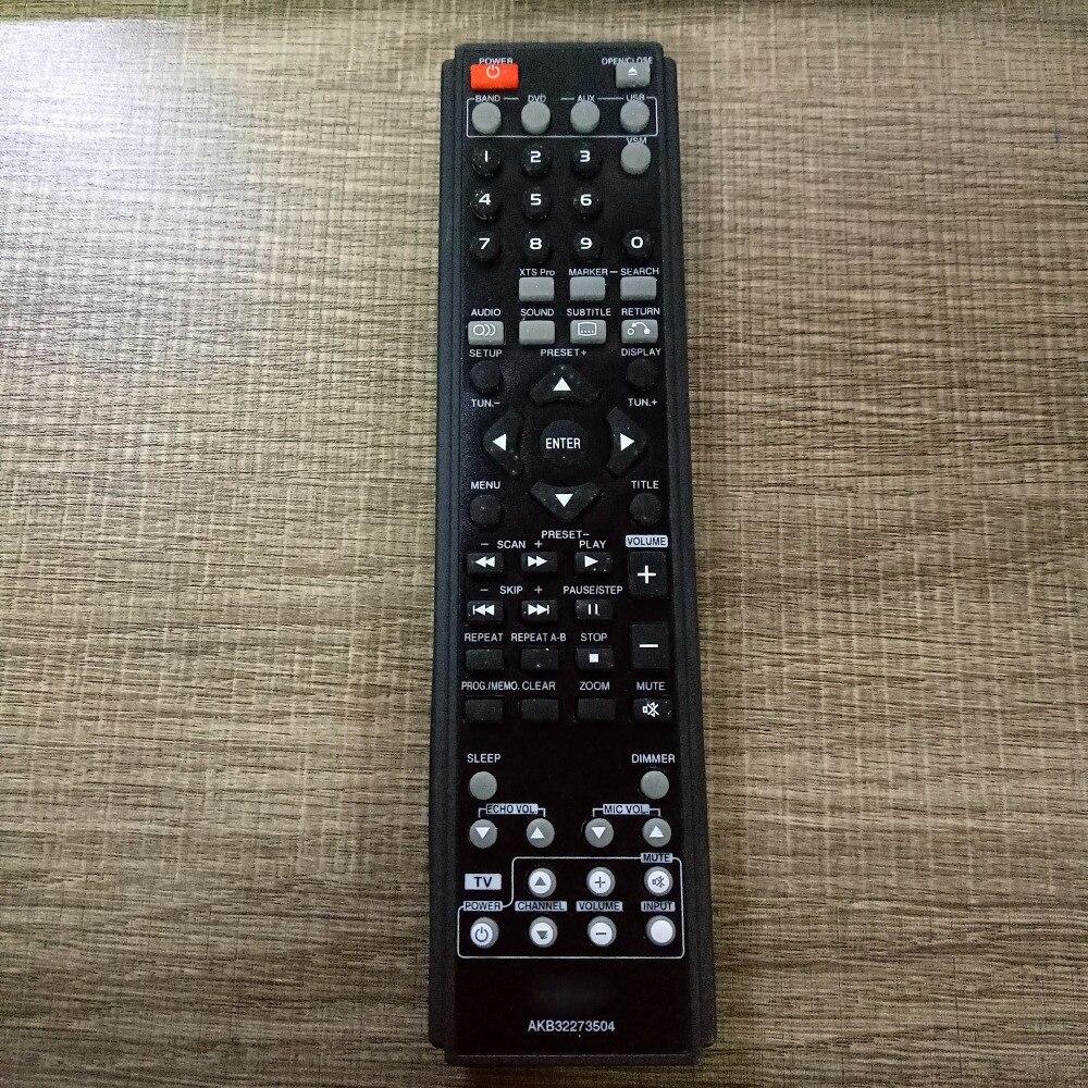 NEW Original remote control suitable for lg AKB32273504 RADIO DVD AUX TV TUNER PLAYER av receiver dvd Fernbedienung new tv tuner t ddiwc 001 05038d 0r10