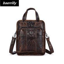 b02ac2265a77 Для женщин Аллигатор Натуральная кожа рюкзак 3D крокодил Для женщин рюкзак  ежедневно сумки для девочек Колледж Женская мода сумк.