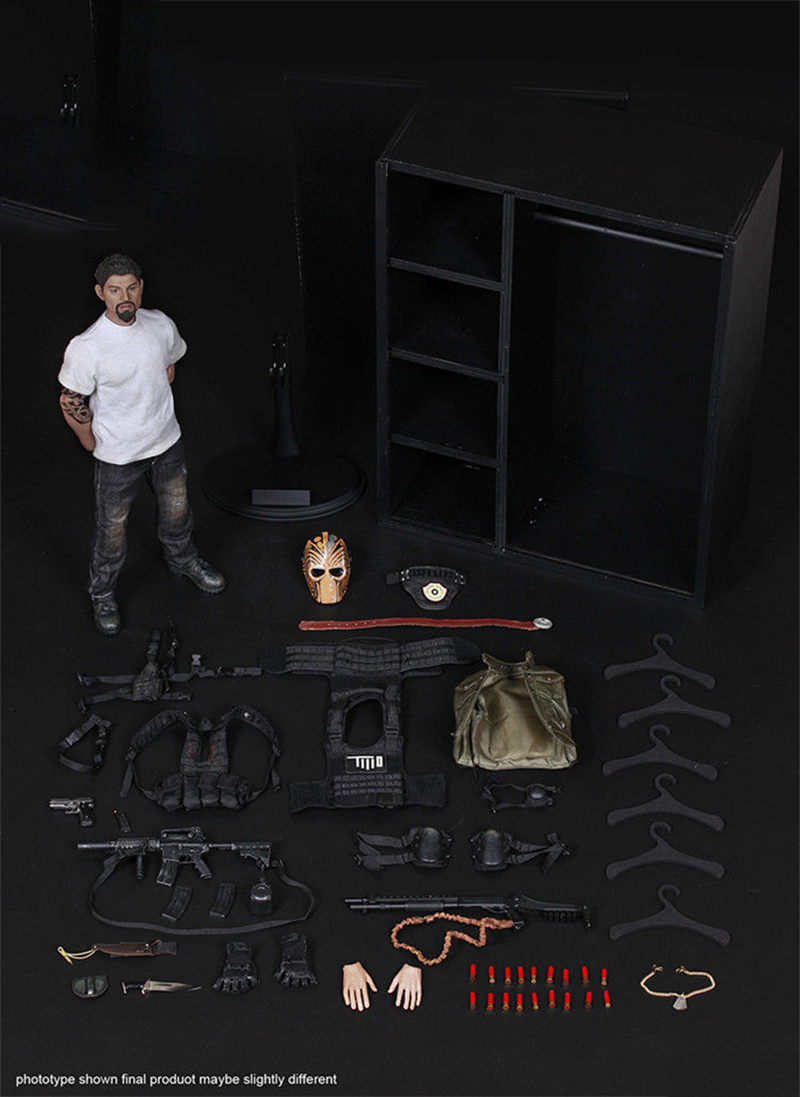 Collection 1/6 1/6 Scale Male Masked Mercenaries 2.0 Action Figure Toy for Collectors Gift For Hobbies 1