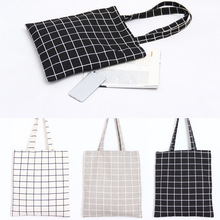 New Reusable Cotton Linen Eco Friendly Shopping Bag Original Hand Mana Ladies Handbag Double Bed Cloth Woman Bag Free Shipping