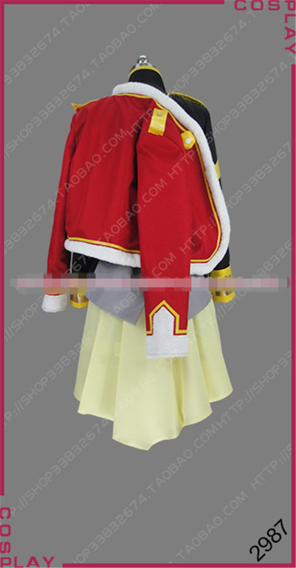 Anime Cosplay Costumes Revue Starlight Tendo Maya Skirt Uniforms shawl Full Sets Women halloween costume A
