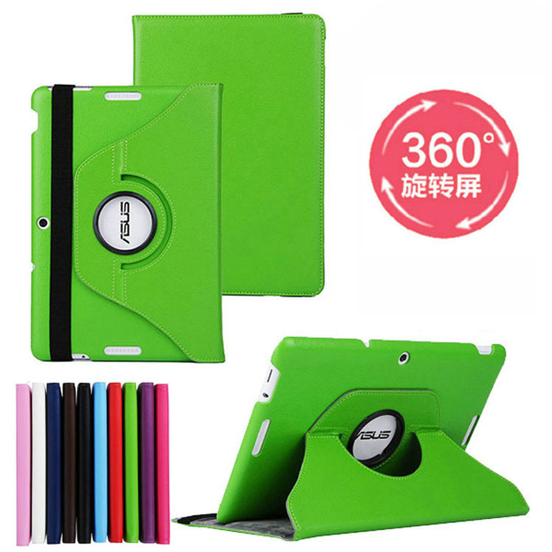 Rotating 360 Degree Luxury Folio Stand Holder Leather Case Protective Cover For ASUS MeMO Pad 10 ME103 ME103K K01E 10.1 Tablet beautiful gitf new luxury stand case cover for asus memo pad 7 me176c me176cx tablet wholesale price jan16