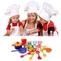 31 unids/set nueva cena vajilla de platos de comida de juguete juego de imaginación cocina kids toys coloridos regalos del bebé