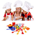 31Pcs/Set  New Dinner Food Dishes Tableware Toy Pretend Kids kitchen toys Colorful Baby Gifts