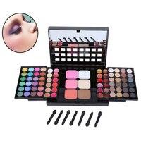Hot 78 Colors Eyeshadow Palette Set 48 Eyeshadow 24 Lip Gloss 6 Blush Makeup Palette Kit