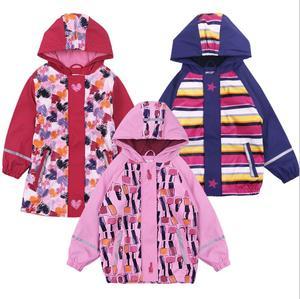 Image 2 - Ветрозащитная водонепроницаемая куртка для мальчиков, детские толстовки, верхняя одежда для мальчиков, одежда для девочек, детский зимний флисовый плащ От 2 до 6 лет