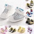Zapatos Del Bebé recién nacido Bebé de la Historieta Zapatillas Zapatilla Bebés Niño Cuna Casual Zapatos Encantadores Superman Muchacho Infantil Calzado