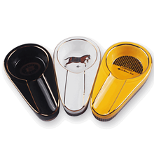 Popular Fashion Travel Cigar Ashtray Accessories Portable Ceramic For Boyfriend Home Decoration LFB411