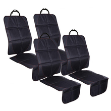 ФОТО 4pcs 123x48cm auto car seat protective mats pads seat protector for baby kids protection