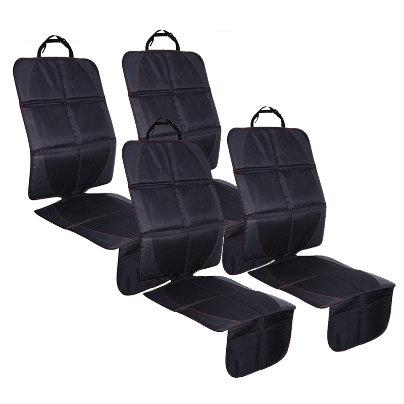 4pcs 123x48cm Auto Car Seat Protective Mats Pads Seat Protector for Baby Kids Protection