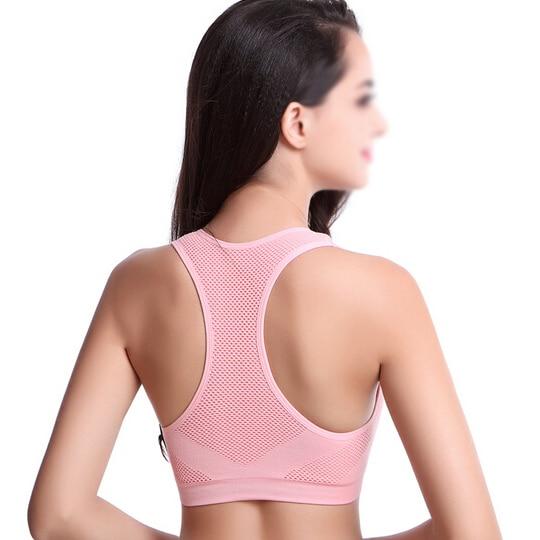 Aliexpress.com : Buy ELOS Sport Bra Women Sexy Yoga Shirt Padded ...