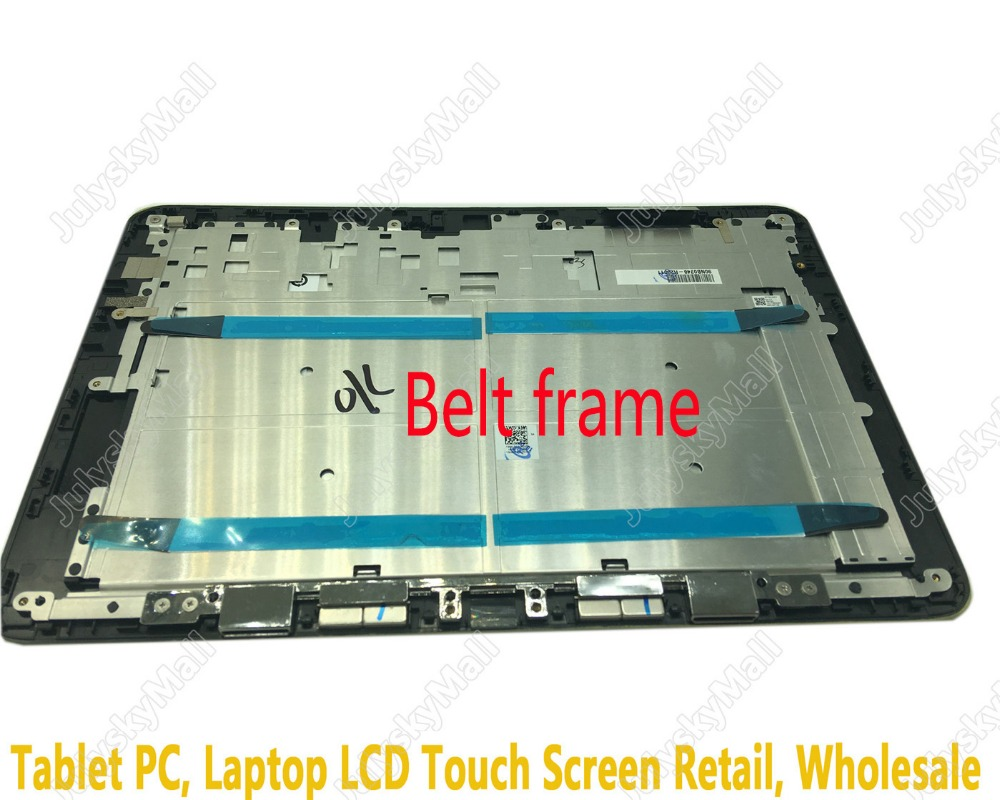 For replacement of Book Asus T101HA LCD full display + touch screen digitizer + frame bezel replacement replacement full lcd display touch screen digitizer frame for lg l fino d290