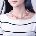 Fashion Imitation Pearl Necklace Women New Year Gift Collares Mujer Choker Necklace 2016 N4