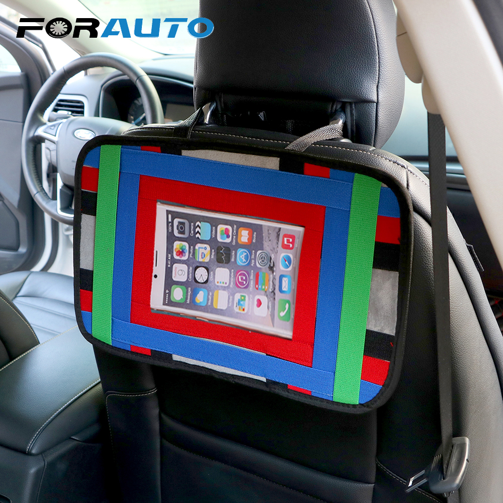 Auto Organizer Tablet Us 11 65 23 Off Forauto Auto Back Seat Organizer Cell Phone Tablet Stand Storage Bag Pouch For Mobile Phone Ipad Tablet Car Holder Car Styling In
