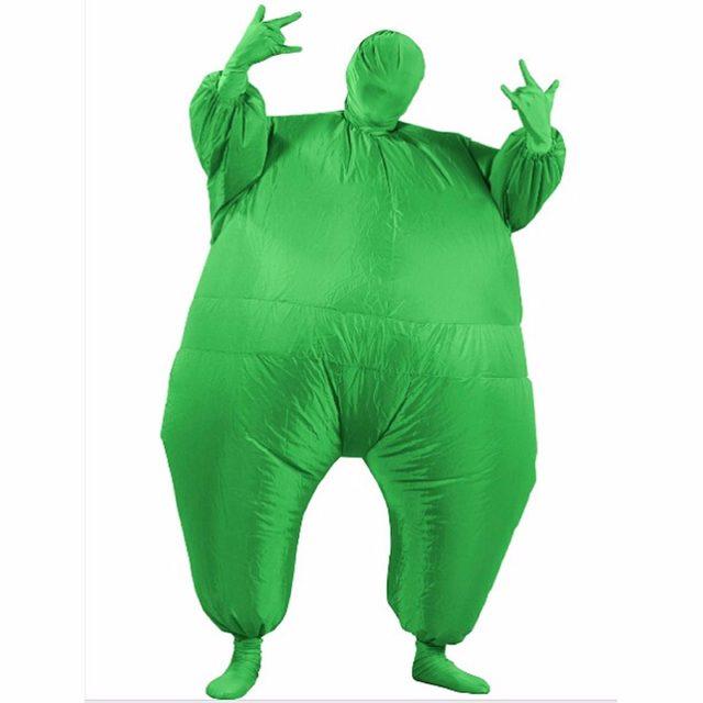 Tienda Online Adultos Club suit trajes inflables Air blow up azul ...