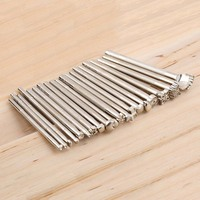 Zinc Leather Tools 20pcs LOT DIY Leather Working Saddle Making Tools Set Carving Leather Craft Stamps